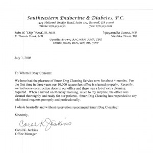 Southeastern Endocrine and Diabetes, P.C. testimonial -SmartDog