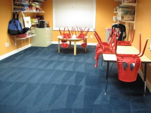 blue carpet cleaning - SmartDog Commercial Cleaning